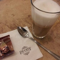 Photo taken at Peony Teafé and Gallery by Thawas K. on 5/12/2012