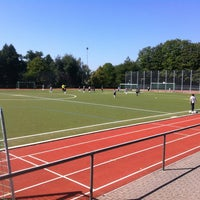 Photo taken at DJK SC Schwarz-Weiß Wiesbaden e.V. by Sascha S. on 9/8/2012