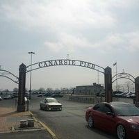 Photo taken at Canarsie Pier by Bob D. on 3/18/2012