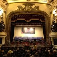 Photo taken at Nhà Hát Lớn Hà Nội (Hanoi Opera House) by Chin L. on 4/14/2012