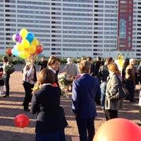 Photo taken at Гимназия № 1409 by Anastasia Y. on 9/1/2012