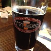 Photo taken at Tyler's Restaurant & Taproom by Frank C. on 8/25/2012