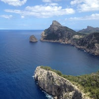 Photo taken at Cap de Formentor by Klementina K. on 5/20/2012