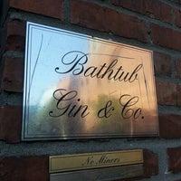 Photo taken at Bathtub Gin & Co. by Jason J. on 5/11/2012