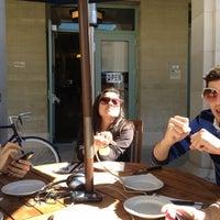 Photo taken at Sagehen Cafe by Nina N. on 2/10/2012
