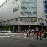 Photo taken at Tanimachi Line Temmabashi Station (T22) by Syunsuke O. on 4/29/2012