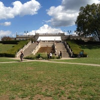 Photo taken at Ault Park by Rachel F. on 9/9/2012