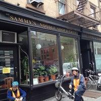 Photo taken at Sammy's Noodle Shop by Teddy W. on 5/1/2012