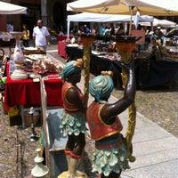 Photo taken at Piazza Santo Stefano by Richard J. on 6/9/2012
