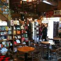 Photo taken at Upstart Crow Bookstore & Coffeehouse by Nora N. on 6/10/2012