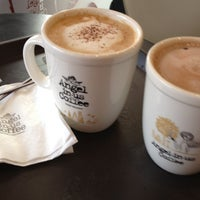 Photo taken at Angel-in-us Coffee by Bertha S. on 8/23/2012