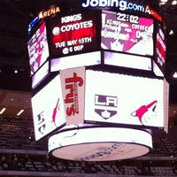 Das Foto wurde bei Gila River Arena von Sandra S. am 5/13/2012 aufgenommen