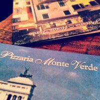 Photo taken at Pizzaria Monte Vero by Simone A. on 4/14/2012