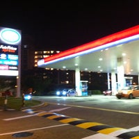 Photo taken at Esso Station by ジャッキー タ. on 4/11/2012
