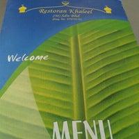 Photo taken at Restoran Khaleel by NieZa R. on 3/17/2012