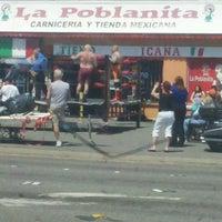 Photo taken at La Poblanita by Frank M. on 7/4/2012