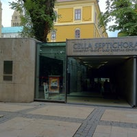 Photo taken at Cella Septichora Látogatóközpont by Hiroaki Y. on 7/22/2012