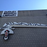 Photo taken at Boston Public Library - Dudley Branch by Justin on 4/19/2012