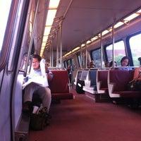 Photo taken at WMATA Red Line Metro by Aaron W. on 5/23/2012