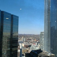 Photo taken at The Exchange Tower by Brenda N. on 4/2/2012