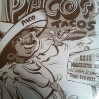Foto tomada en Paco's Tacos por Tim M. el 3/31/2012