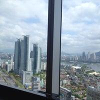 Photo taken at ASEM Tower by Nami C. on 5/4/2012