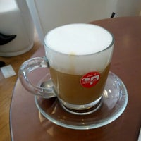 Photo taken at Caffe Pascucci by Miri on 8/11/2012