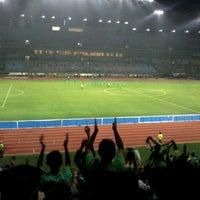 Photo taken at Stadion Gelora Bung Tomo by yudha s. on 2/24/2012