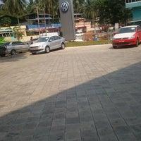 Photo taken at Volkswagen Calicut by sravan d. on 4/9/2012