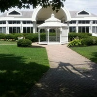 Photo taken at The Mansion on Main Street by Elissa L. on 7/10/2012