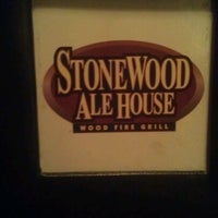 Photo taken at Stonewood Ale House by Erin O. on 6/10/2012