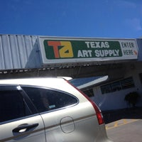 Photo taken at Texas Art Supply by Michael L. on 3/22/2012