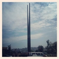 Photo taken at Glorieta Del Monumento a la Independencia (Las Tijeras) by Mirna M. on 8/31/2012