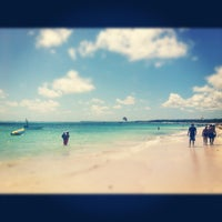 Photo taken at Playa Los Corales by José L. on 4/29/2012