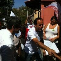 Photo taken at Caminhada no Morro do Estado by Rodrigo N. on 8/26/2012