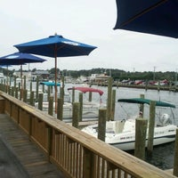 Photo taken at Harborside Bar & Grill by Geoff on 9/2/2012