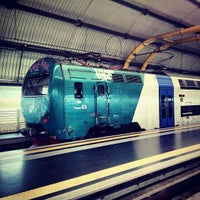Photo taken at Fiumicino Airport Railway Station (ZRR) by Mikhail S. on 7/7/2012