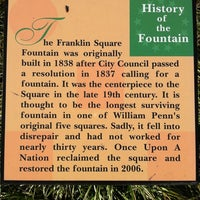 Photo taken at Franklin Square by Mitchel G. on 3/19/2012