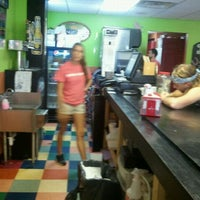 Photo taken at Bandidos Burritos by Calvin B. on 7/18/2012