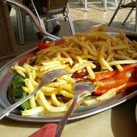 Photo taken at Restaurante El Castillo by María M. on 3/24/2012