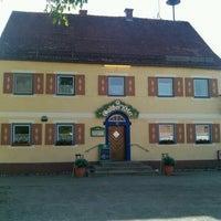 Photo taken at Gasthof Adler by Vladimir P. on 5/10/2012