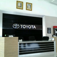 Photo taken at Toyota NBT (Brunei) Sdn Bhd Sales & Service Centre by Xue I. on 9/2/2012