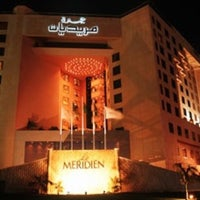 Photo taken at Le Méridien Jeddah by Yan on 6/30/2012