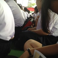 Photo taken at Sport Complex ม.ปลาย @SW2 by Mayrai on 6/26/2012