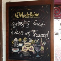 Photo taken at la Madeleine Country French Café by Alessandro S. on 5/13/2012