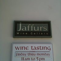 Photo taken at Jaffurs Wine Cellars by Philip C. on 3/19/2012