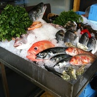Photo taken at Budaörsi Halpiac - The Fishmonger by László G. on 6/2/2012