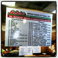 Photo taken at LaSala's Deli by Raye J. on 5/25/2012