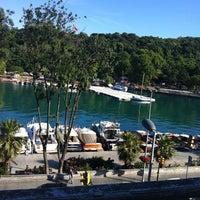 Photo taken at İstinye Marina by Zeynep on 6/7/2012