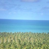 Foto tirada no(a) Mirante da Praia do Gunga por Simone C. em 7/12/2012